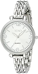 XOXO Women's XO5753 Silver-Tone Bracelet Watch