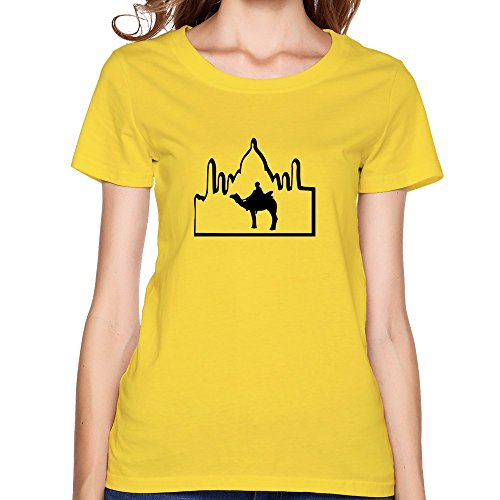five-miumine-women-camel-tour-taj-mahal-india-t-shirtsyellow-t-shirts-by-hgiorgis