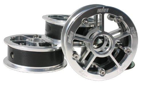 MBS Rock Star Pro Hub Set-Silver Aluminum