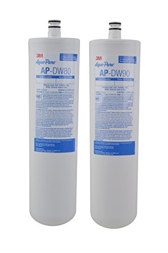 3M Aqua-Pure Under Sink Replacement Water Filter - Model AP-DW80/90 (3m Water Filter Cartridge compare prices)