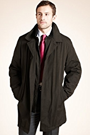 Big & Tall Collezione Stormwear™ Double Collar Mac