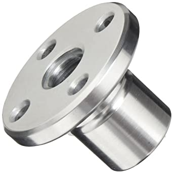 THK Lead Screw Nut Model DCM14, 22mm Outer Diameter x 30mm Length, 44mm Flange Diameter, Load Capacity: 1102 Pound-Force (Pack of 5)