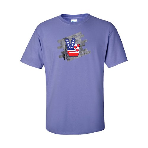 Iamtee Peace T-Shirt-Violet-Xl