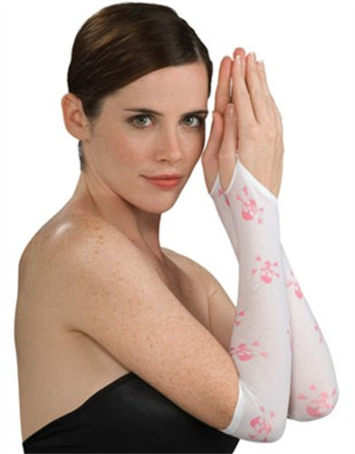 Rubie's Costume Co Skull/Crossbone Arm Warmer-Bk Costume