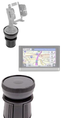 Duragadget Anti-Shock / Vibration & Adjustable In Car Cup Holder Smart Mobile Phone Mount Ideal For Garmin Nuvi 52Lm / Garmin Nüvi 42Lm / Garmin Nüvi 2468Lmt-D / Garmin Nüvi 65Lm / Garmin Nüvi 2408Lt-D