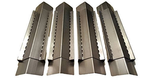 Great Features Of Set of 4 Stainless Steel Heat Plate for Brinkmann, Charmglow Models Grills