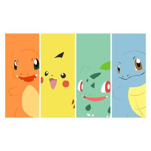 Pikachu-Poster-On-Silk-107cm-x-60cm-43inch-x-24inch-Cartel-de-Seda-E6EC79