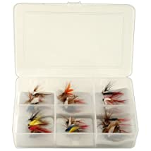South Bend 25-Pack of Assorted Flies in Box