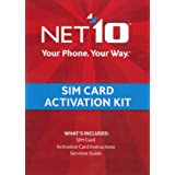 Net10 SIM Card Activation Kit by Net10