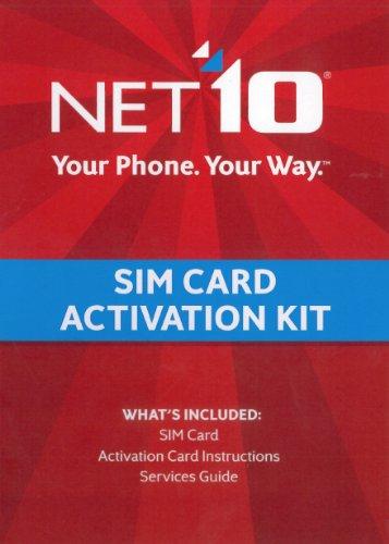 Net10 SIM Card Activation Kit 616961004898