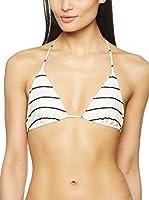 Patrizia Pepe Sujetador de Bikini (Blanco / Negro)