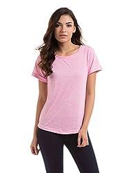 Prym Women's Body Blouse Shirt (1011518603_Pink Mix_Small)