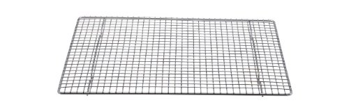Best Deals! Professional Cross Wire Cooling Rack Half Sheet Pan Grate – 16-1/2″ x 12″ Drip Screen