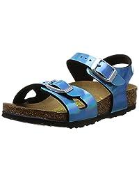 Birkenstock Kids Mirror Blue Rio Birko-Flor Sandals