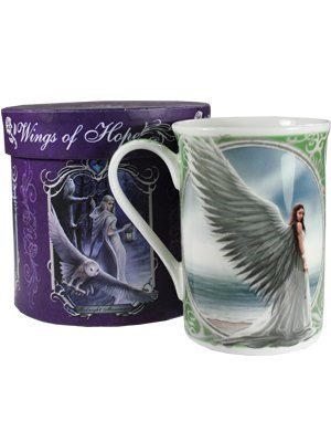 Anne Stokes spirit Guide Boxed Tazza