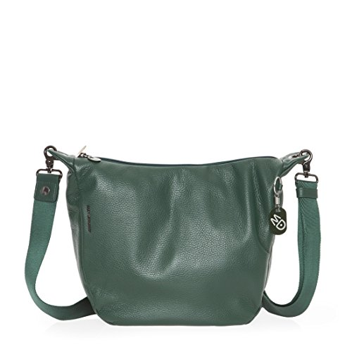 Mandarina Duck Mellow Leather Borsa a spalla forest