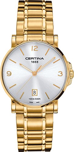 Certina DS Caimano C017.410.33.037.00 Mens Wristwatch Classic & Simple