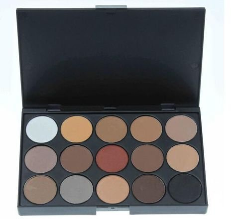 Great Deal(TM) Professional 15 Colors Warm Nude Matte Shimmer Eyeshadow Palette Makeup