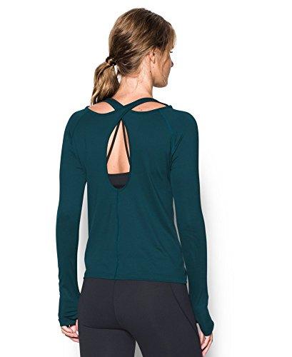 Under Armour Women's UA Swing Keyhole Long Sleeve X-Small NOVA TEAL