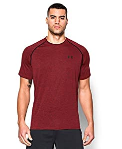 Under Armour Men's Tech Short Sleeve T-Shirt, Red (608), Large