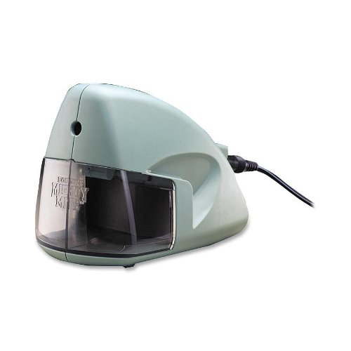 "X-Acto - Electric Pencil Sharpener, 3-1/2""X5""X3-1/2"", Mineral Green, Sold As 1 Each, Epi 19500"