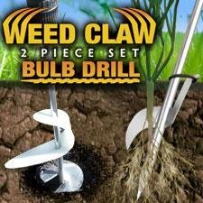 Review Weed Claw and Bulb Drill