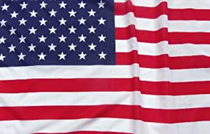 American Flag / US Flag 3' X 5'. 5% of Profit Helps US Vets! 100% Made in the USA! Top Quality Poly Cotton Blend. 5% of Profit Goes to Help Disabled Veterans. Large United States Flag With Deep Vibrant Colors. Best Replacement Flag. Garden Flag. Patio Flag. Business Flag. Home Flag. Satisfaction Guaranteed.