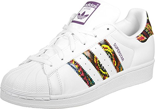 adidas Superstar W Scarpa 4,5 ftwr white/mid grape