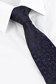 Autograph Pure Silk Floral Tie MADE WITH SWAROVSKI ELEMENTS