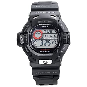 Casio Men&#8217;s GW9200-1 G-Shock Riseman Alti-Therm Solar Atomic Watch