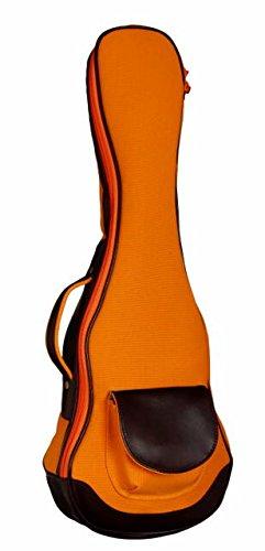 ウクレレケース ukulelecase 帆布バック UCB-C コンサート用 (オレンジ)