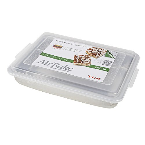 AirBake Natural Cake Pan with Cover, 13 x 9 in (Airbake Loaf Pan compare prices)