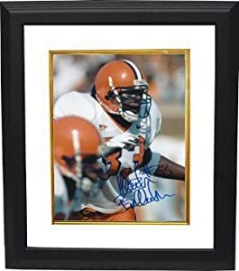 Keith Bulluck signed Syracuse Orange 8x10 Photo Custom Framed