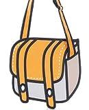 oMyBigDeal Funny cartoon bag hot 3D stereo effect shoulder bag Messenger bag