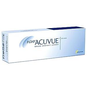 Acuvue 1-Day Visitint Tageslinsen weich, 30 Stück / BC 8.5 mm / DIA 14.2 / -4.50 Dioptrien