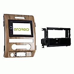 See FORD F-150 2011-2012 ANDROID K-SERIES GPS NAVIGATION WITH DRAPE WALNUT DASH KIT Details