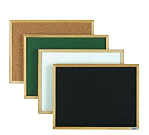 "Economy Series Composition Chalk Board Board Color: Green, Size: 12"" H x 18"" W"