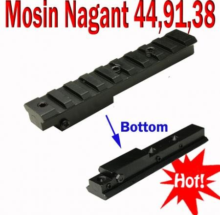 Mosin Nagant M44 M91/30 M39 M38 Rifle Scope Mount Short NEW
