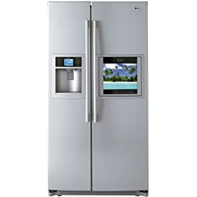 LG Refrigerator TV