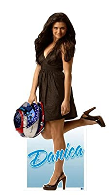 Miniature Cardboard Cutout - Danica Patrick - In Dress