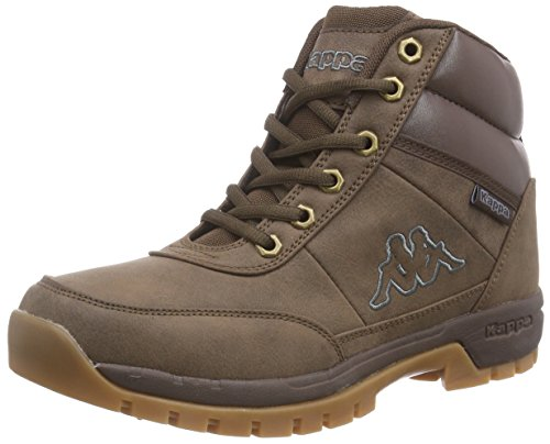 Kappa 241262, Stivaletti unisex adulto, Brown - Braun (brown), 43