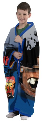 Disney Cars Eat My Dust Cuddly Wrap front-859349