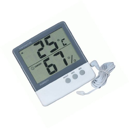 Dehang-LCD-Temperature-Humidity-Meter-Thermometer-Hygrometer-3m-Sensor-Wire