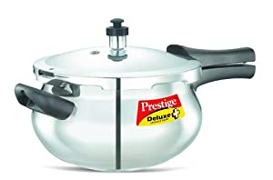 Prestige Deluxe Stainless Steel Handi Cooker, 4.5 Liters by Pressure Cookers
