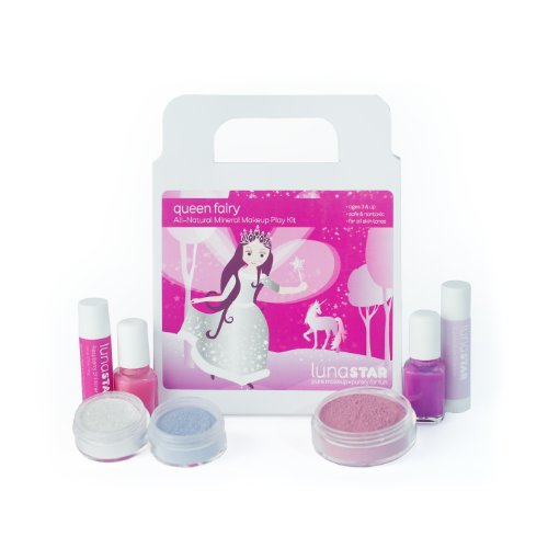 All Natural Queen Fairy Deluxe Play Makeup Kit
