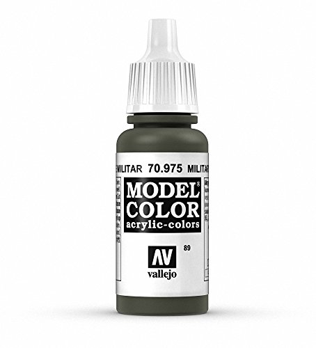 Vallejo Military Green Paint, 17ml