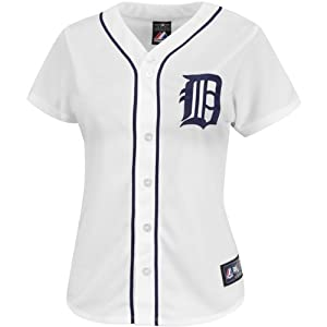 Majestic Athletic Detroit Tigers Miguel Cabrera Ladies Replica Home Jersey by Majestic Athletic