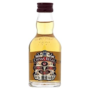 Chivas Regal 12 year old Blended Whisky 5cl Miniature - 12 Pack by Chivas Brothers