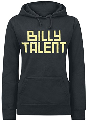 Billy Talent Louder Than The DJ Felpa donna nero S