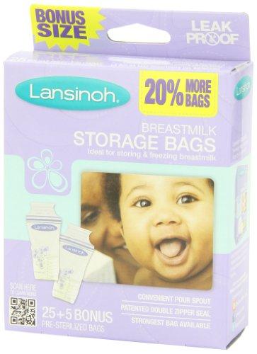 凑单品:Lansinoh 母乳储存袋 25片*3盒美国亚马逊